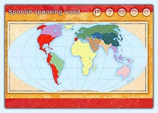 Tower of babel interactive learning products discover and explore the spanish speaking countries of the world with maps images and spanish english texts learn about spanish culture and heritage and gumiabroncs Gallery